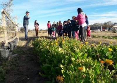 Alumnos de nuestras escuelas primarias visitando el Parque
