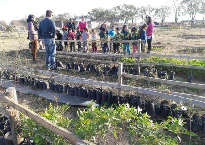 Jardines de Infantes visitando el Parque